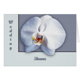 Orchideen-Polterabend Karte