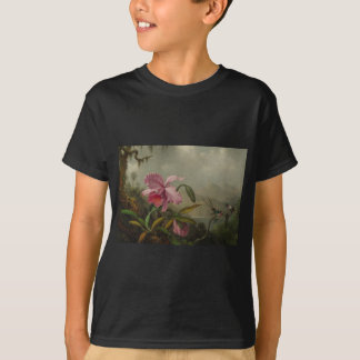 Orchideen und Kolibris durch Martin Johnson Heade T-Shirt