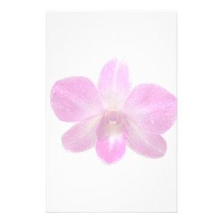 Orchideen-Wasserzeichen-Briefpapier Individuelle Druckpapiere