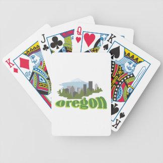 Oregon Bicycle Spielkarten