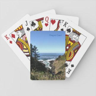 Oregon-Küste Spielkarten