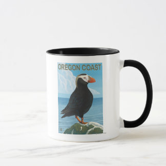 Oregon-Küsten-büscheliger Papageientaucher Tasse