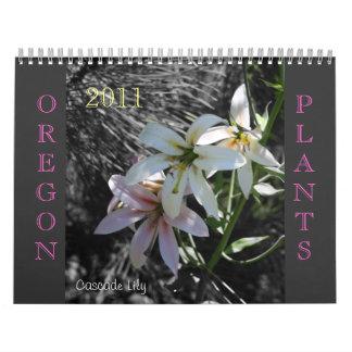Oregon Plantlife Wandkalender