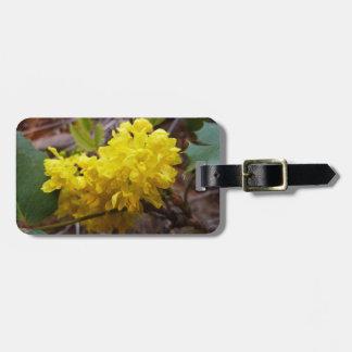 Oregon-Trauben-Blumen-gelbe Wildblumen Kofferanhänger