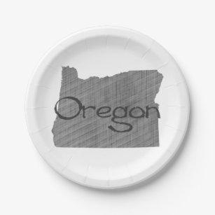 OregonpapierParty-Teller Pappteller