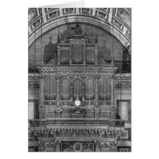 Organ Karte