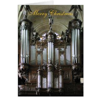 Organ St. Etienne-DU-Mont Karte