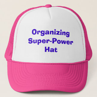 Organisieren Super-PowerHat Truckerkappe