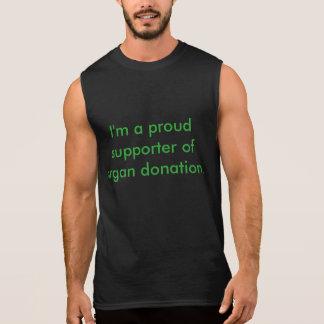 Organspende-Bewusstseins-Behälter Ärmelloses Shirt