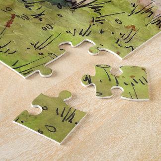 Orge Zelt-Puzzle vom unwirklichen Anwesen Puzzle