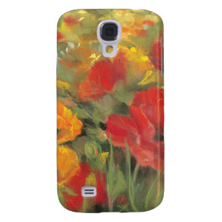 Orientalische Mohnblumen-Feld Galaxy S4 Hülle