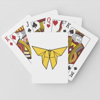 Origami Schmetterlings-Spielkarten Spielkarten