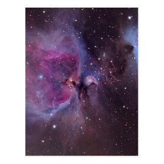 Orions-Nebelfleck Postkarte