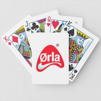 Ørla Pokker Spillekort Spielkarten