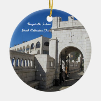 Orthodoxe Kirchen-Verzierung Rundes Keramik Ornament