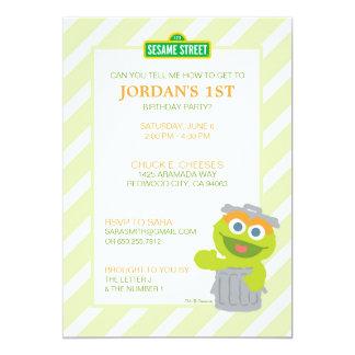 Oscar der Klage-Baby-Geburtstag 12,7 X 17,8 Cm Einladungskarte