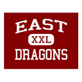 Ost- Drachen - Osthigh School - Akron Ohio Postkarte