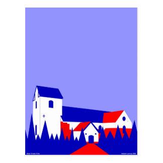 Øster Snede Kirke - die Kirche in Oster Snede Postkarte