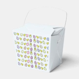 Osterei-und Küken-Bevorzugungs-Kasten Geschenkkartons