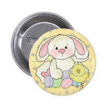 Osterhase Runder Button 5,7 Cm
