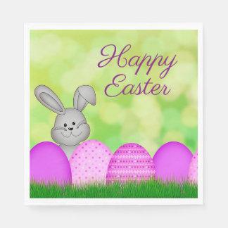 Osterhase und Eier Papierserviette