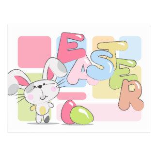 Osterhasen-Gruß Postkarte