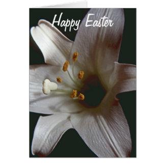 Osterlilien-glückliche Ostern-Karte Karte