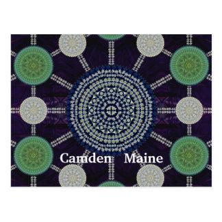 Osterlilien-Mandala-Reihen-Postkarte Postkarte