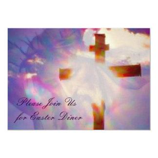 Ostern-Abendessen-Einladung - religiös 12,7 X 17,8 Cm Einladungskarte
