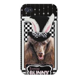 Ostern - etwas Häschen-Lieben Sie - Pudel - Schoko iPhone 4 Hülle