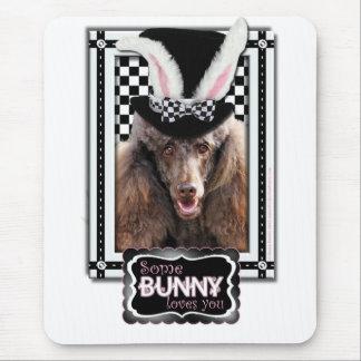 Ostern - etwas Häschen-Lieben Sie - Pudel - Schoko Mousepads