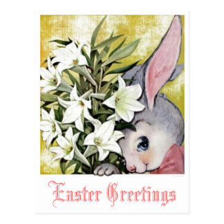 Ostern-Gruß-Postkarte Postkarte