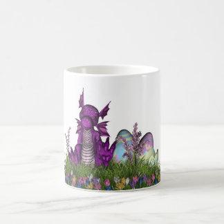 Ostern-Überraschungs-Baby-Drache Kaffeetasse