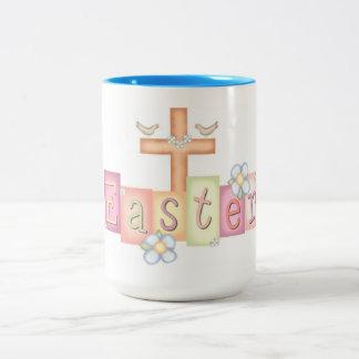 Ostern Zweifarbige Tasse