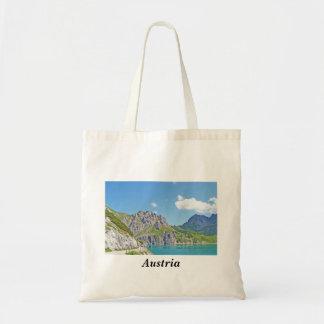 Österreich - Andenken-Tasche Budget Stoffbeutel