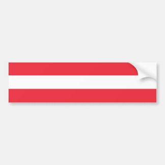 Österreich-Flagge Autoaufkleber