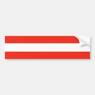 Österreich - Flagge/Österreich - Flagge Autoaufkleber