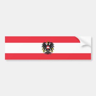 Österreich/österreichische Flagge Autoaufkleber