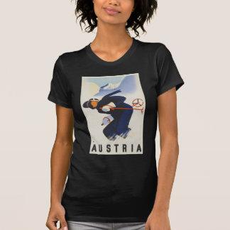 Österreich-Ski T-Shirt