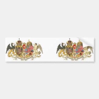 Österreich-Ungarn (1915-18) - Wappen Autoaufkleber