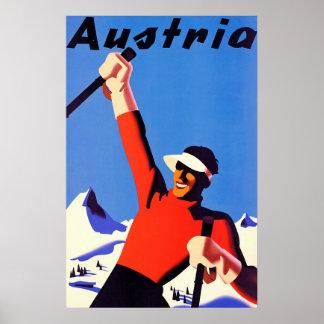 Österreich ~ Vintage Reise Poster