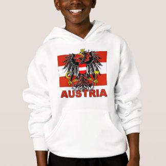 Österreich-Wappen Hoodie