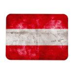Österreichische Flagge Flexible Magnete