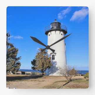 Osthieb-Leuchtturm, Massachusetts-Wanduhr Quadratische Wanduhr