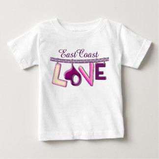 Ostküsten-Liebe kundenspezifisches Baby-Shirt Baby T-shirt