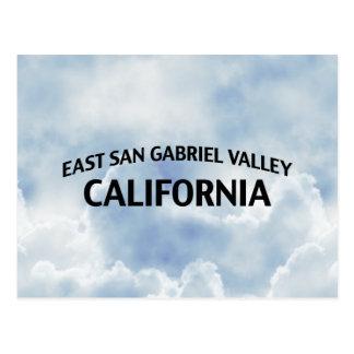 Ostsan gabriel valley Kalifornien Postkarte