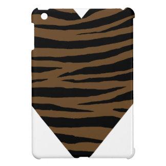 Otter-Brown-Tiger Handhabung am Boden iPad Mini Hüllen