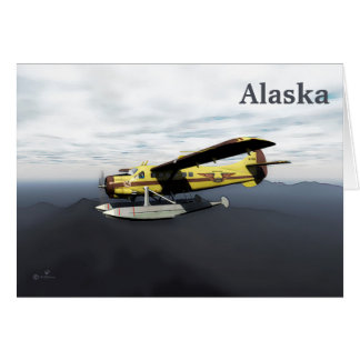 Otter Fliegen-Elch-Luftfahrt-de Havillands DH3-C Karte