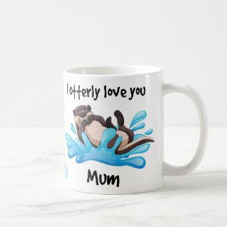 Otter, Mama-Geschenk-Tasse, Tasse für Mama