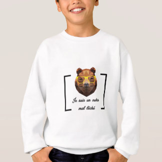 Ours Hipster - Low Poly Sweatshirt